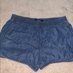 Denim F21 shorts
